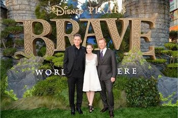 Craig Ferguson, Kelly MacDonald and Kevin McKidd at the premiere