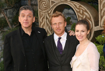 Craig, Kevin and Kelly at the premiere