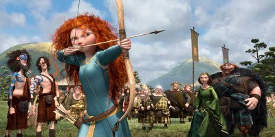 Merida outshoots her suitors