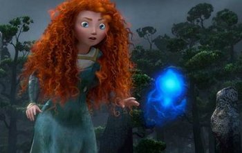 Merida and a Wisp