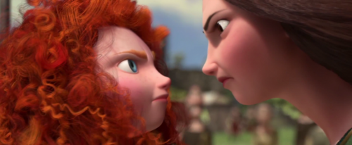 Merida and Mom argue