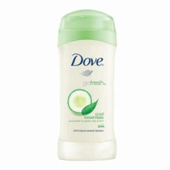 Dove cucumber-scented antiperspirant