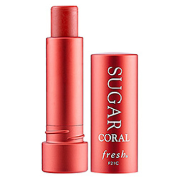 Fresh sugar coral lip balm with SPF
