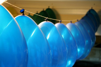 Threaded Balloons