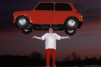 John Evans - Heaviest Car Balanced