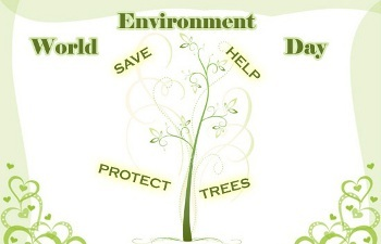 world environment daythe smallest thing can make a difference  like recycling