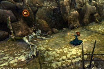 Princess Merida in Brave the Video Game screenshot