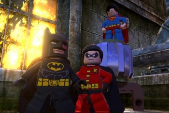 LEGO Batman 2: DC Super Heroes screenshot batman robin superman