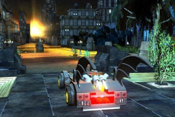 LEGO Batman 2: DC Super Heroes screenshot batmobile