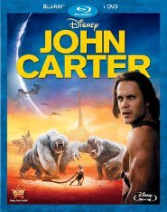 Disney's John Carter Blu-ray Cover