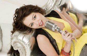 Miley as Hannah Montana