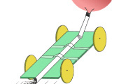 Balloon Rocket Car