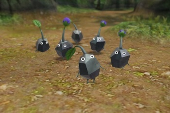 New Black Pikmin from Pikmin 3