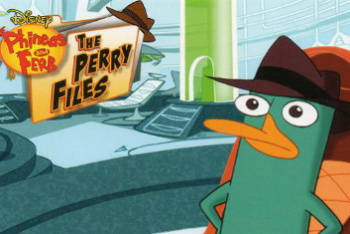 Phineas and Ferb: The Perry Files on DVD