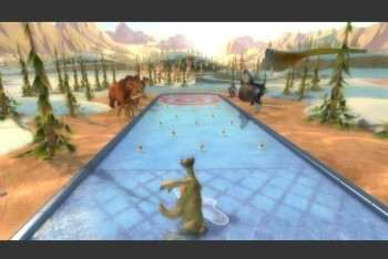 Ice Age: Continental Drift-Arctic Games screenshot curling