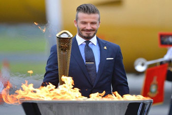 David won't light official torch