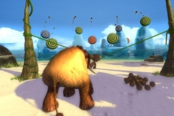 Ice Age: Continental Drift-Arctic Games screenshot manny