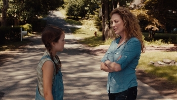 Emma with Virginia Madsen