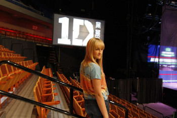 Camryn opened for One Direction this spring