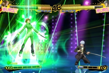 Persona 4 Arena Fight screenshot