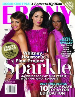 Carmen, Jordin and Tika on the cover of Ebony