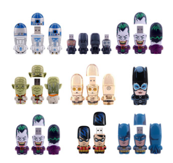 Character Flash Drives