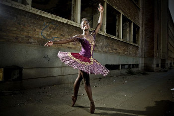 Michaela encountered racism in the ballet world