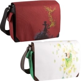 Threadless designed lunch totes