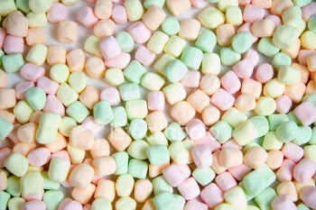 Marshmallows were originally made from the root of marshmallow plants