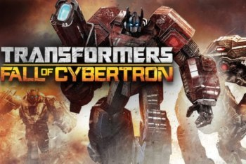 Transformers Fall of Cybertron Title