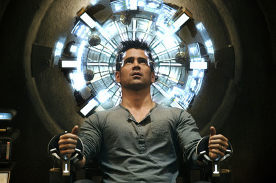 Colin Farrell as Doug at Rekall