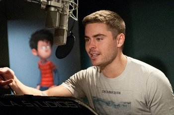 Zac Efron records Ted voice