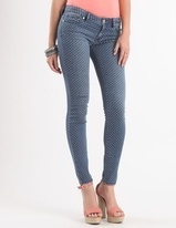 Pac Sun skinny jeans with dots