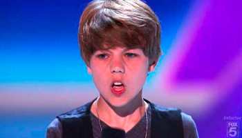 Everyone called Reed Deming a Bieber-alike!
