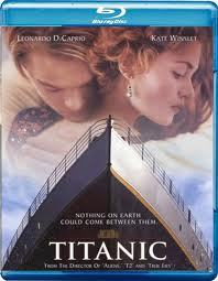 Titanic on Blu-Ray 2D and 3D