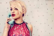 British singer-songwriter Rita Ora burst onto the scene this year with her instant dance classic