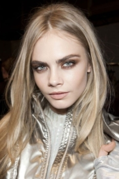Smoky brown tones, from Blumarine's Fall 2012 runway show