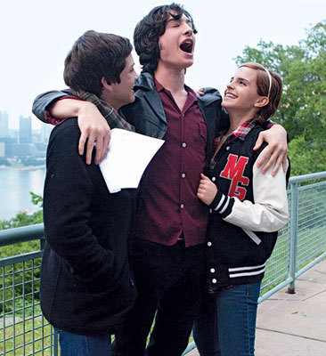 Logan, Ezra and Emma as Charlie, Sam and Patrick