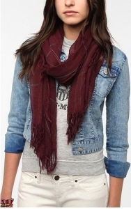 Urban Outfitters Plaid Scarf