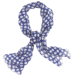 Polka Dot Scarf from JCrew