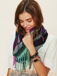 Free People Cut About Scarf