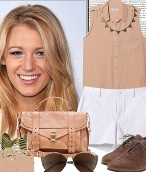 Blake Lively's classic Virgo style