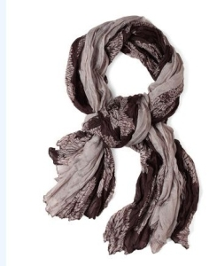 ModCloth Cocoa Flow Scarf