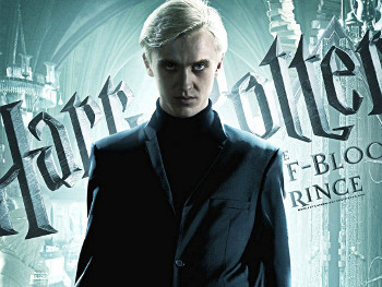 Draco Malfoy is Harry Potter's arch nemesis at Hogwarts