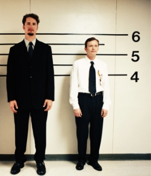 Tall guy, short guy