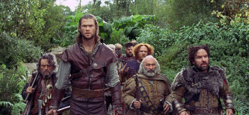 The Huntsman and dwarves