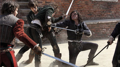 Tybalt kills Mercutio