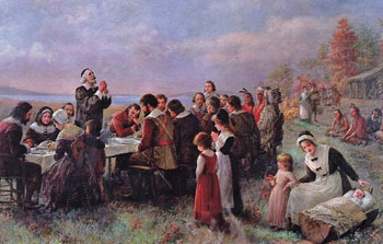 The pilgrims hoped to start a new life in America