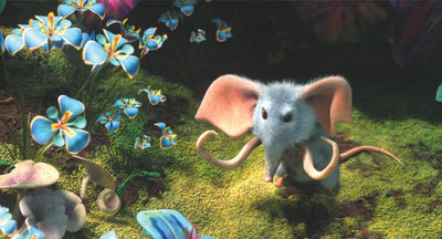 A tiny mousephant
