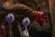 Free Birds Cast Talks Turkey